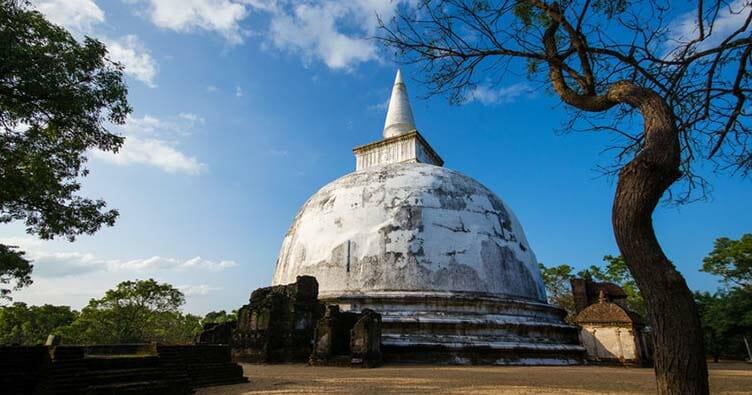 Polonnaruwa au Sir Lanka