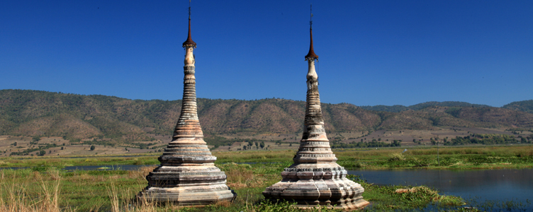 Temple de Sagar en Birmanie Myanmar