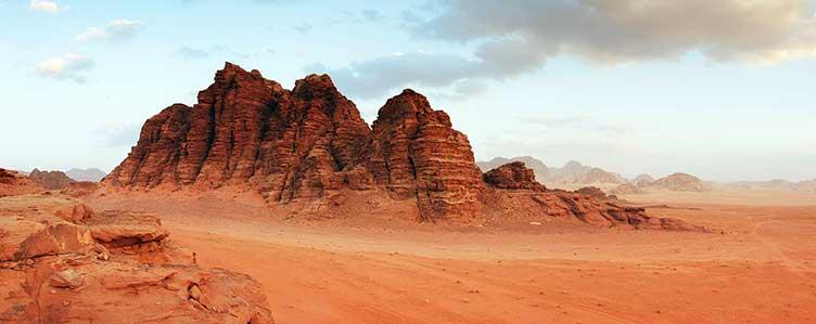 Voyage au Wadi Rum en Jordanie