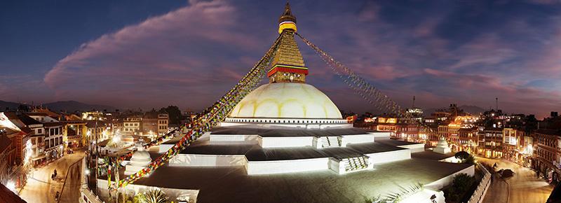 Le Bodnath à Katmandou