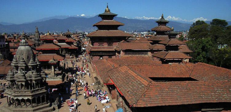 Patan à Katmandou au Népal
