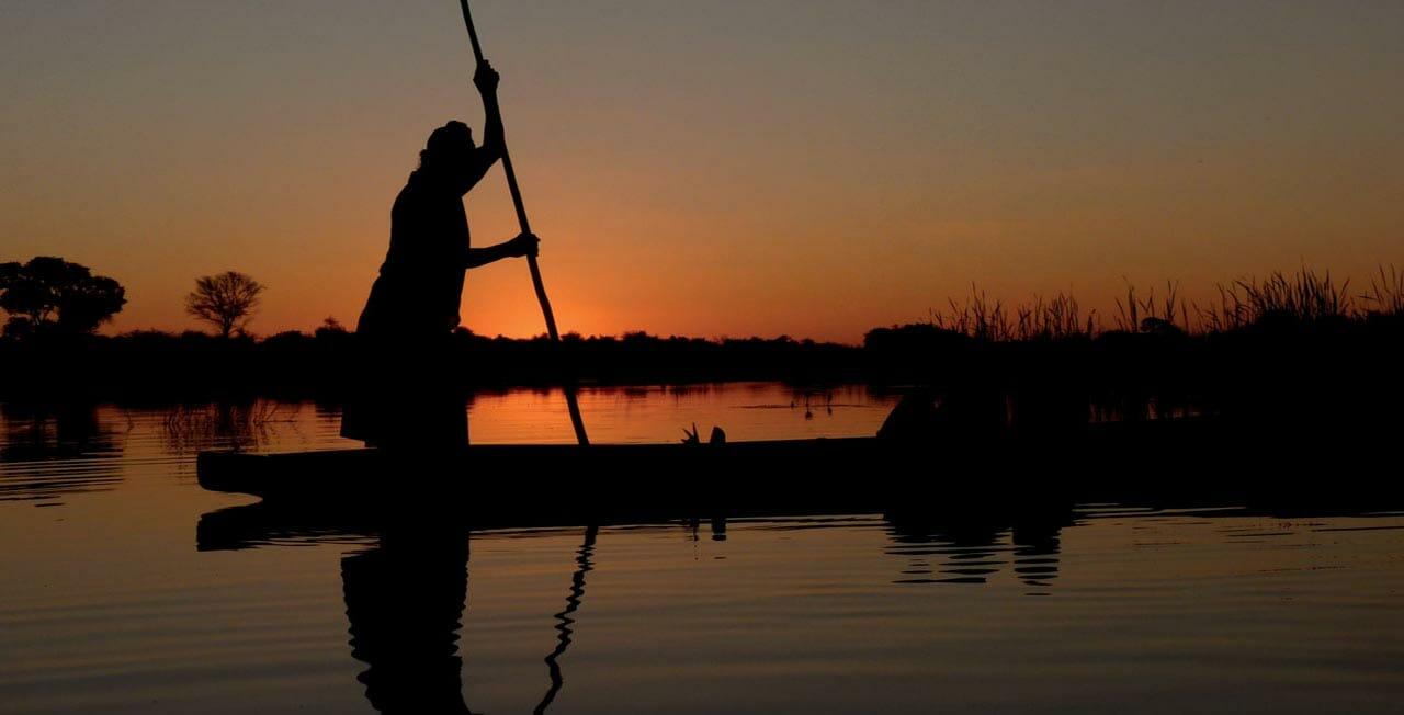 Voyage dans l'Okavango au Botswana